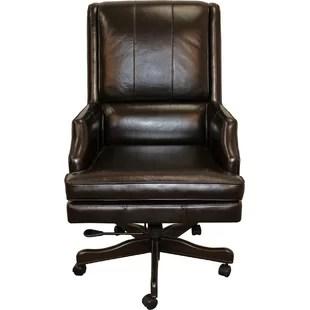 leather executive office chair adirondack chairs target australia you ll love wayfair baudette