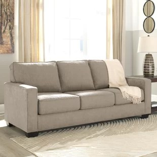 sofa bad living room design red beds sleeper sofas you ll love wayfair ca save