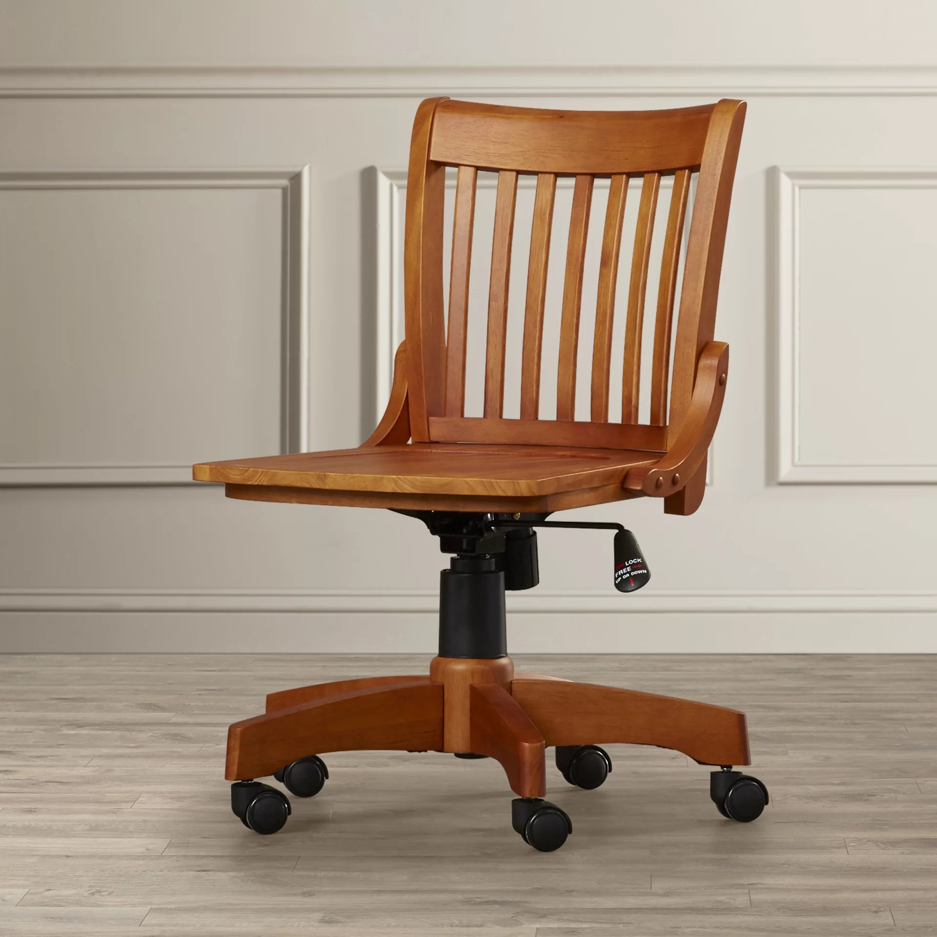 Wooden Bankers Chair Featherston Bankers Chair