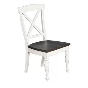 cross back dining chairs white picnic table and folding double chair wayfair villepinte x