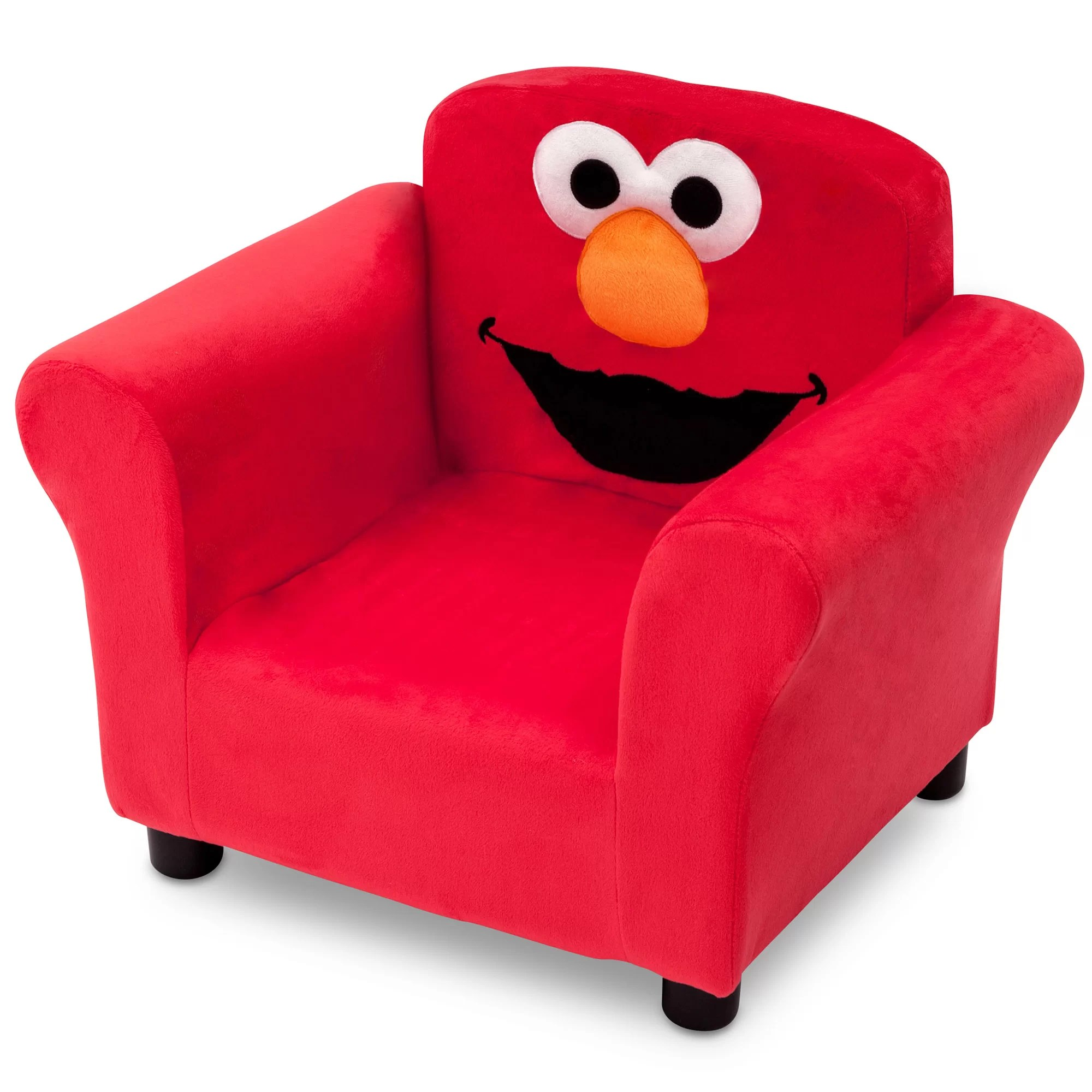 Toddler Chairs Upholstered Sesame Street Elmo Kids Upholstered Club Chair