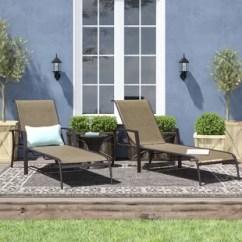 Metal Patio Chair High Modern Furniture You Ll Love Wayfair Quickview