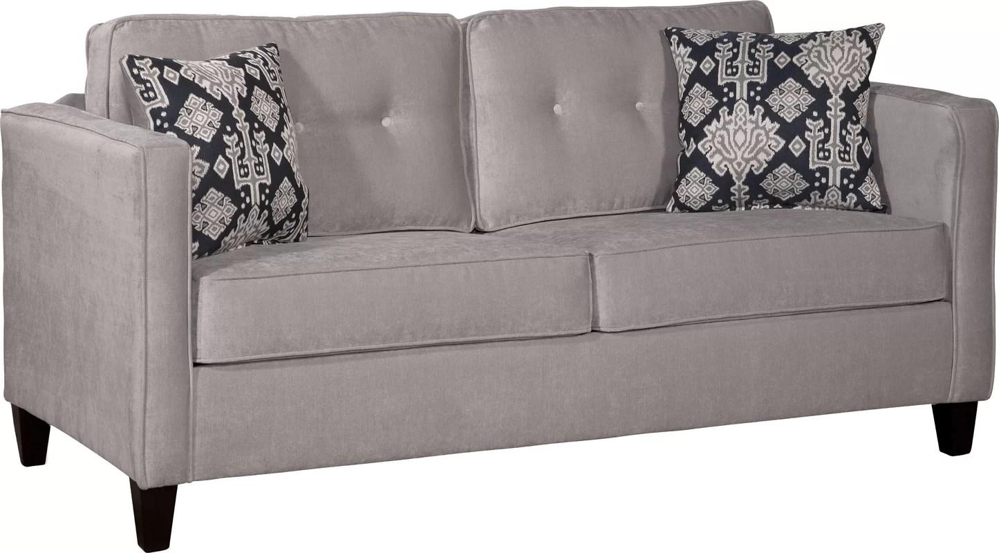 72 sleeper sofa air mattress bed serta upholstery cia quot and reviews birch lane