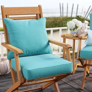 lounge chair cushions cheap best for back patio furniture you ll love wayfair quickview
