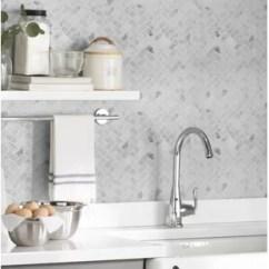 Ceramic Kitchen Tile Planner App You Ll Love Wayfair Calacatta Cressa Herringbone Honed Marble Mosaic In White