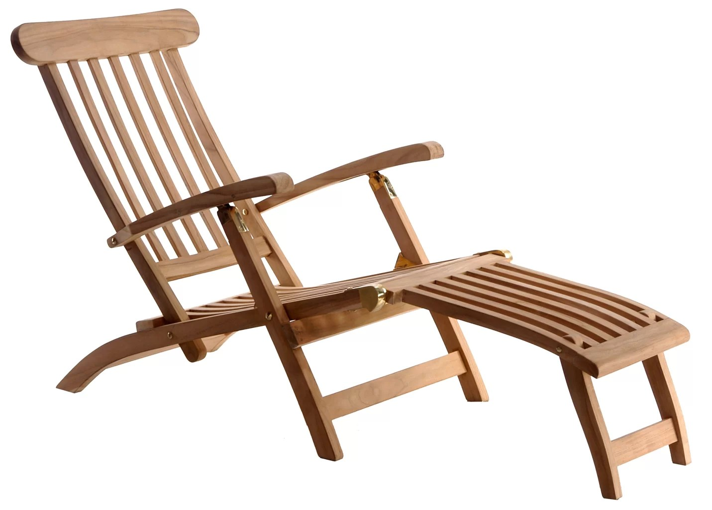 Teak Chaise Lounge Chairs Titanic Teak Steamer Chaise Lounge