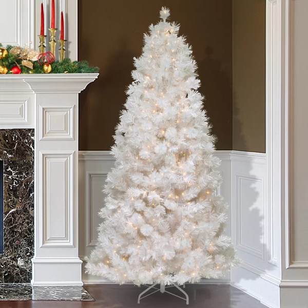 The Holiday Aisle 7539 White Grande Slim Artificial