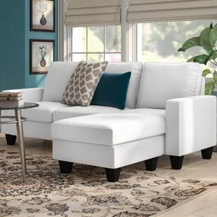 small living room with sectional couch best warm colors for sofas you ll love wayfair bratton