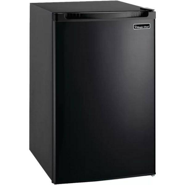 Magic Chef 4.4 Cu. Ft. Compact Refrigerator With Freezer &