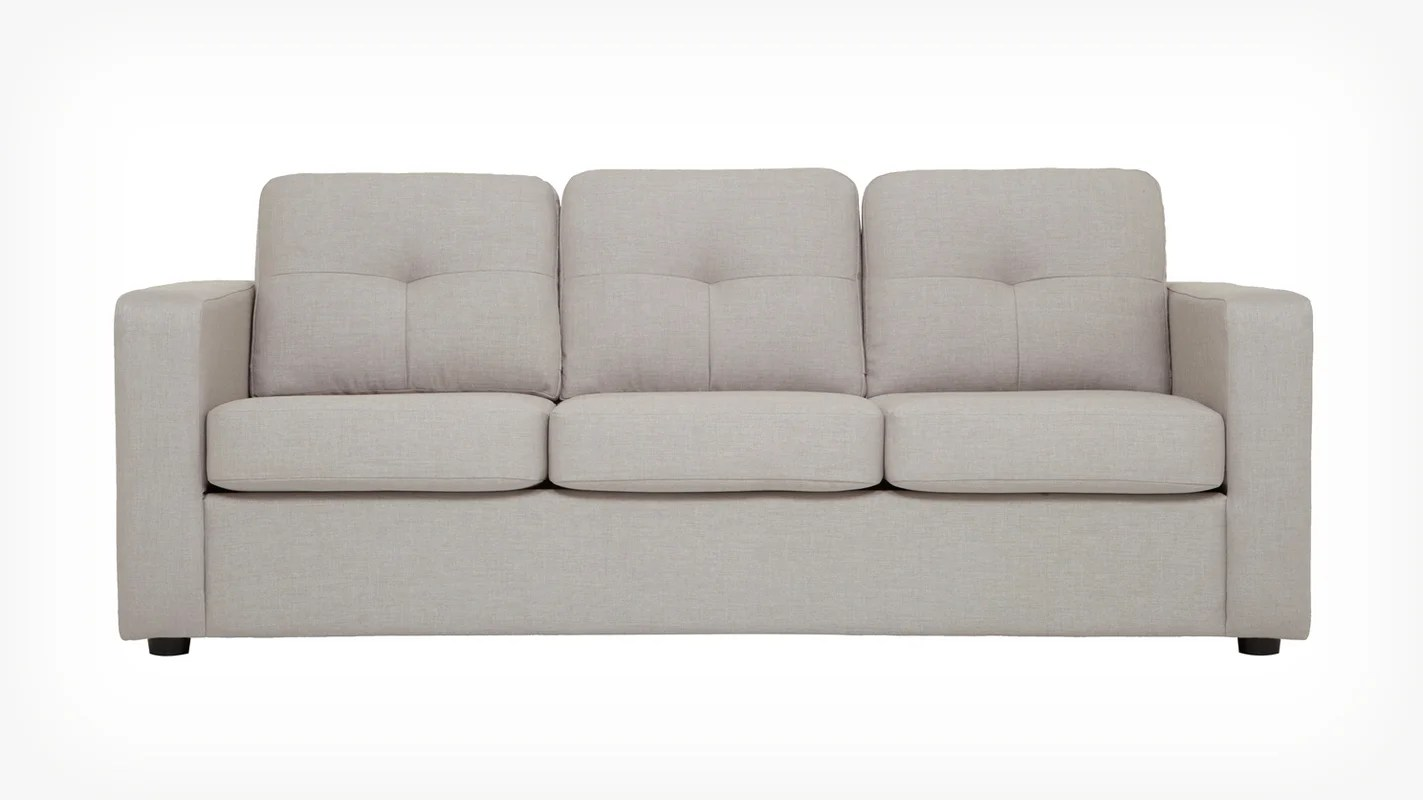 kartell sofa largo alicia two tone modern and loveseat set solo & reviews   allmodern