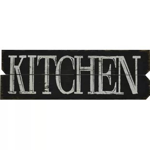 kitchen plaques modern nook wayfair textual art on plaque