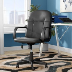 Desk Chair Made Steelcase Leap Instructions Ebern Designs Barone Mid Back Reviews Wayfair