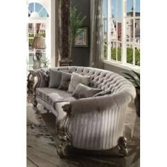 Semi Circle Sofa For Bay Window Flip Open Disney Princess Velvet Sofas You'll Love | Wayfair.ca