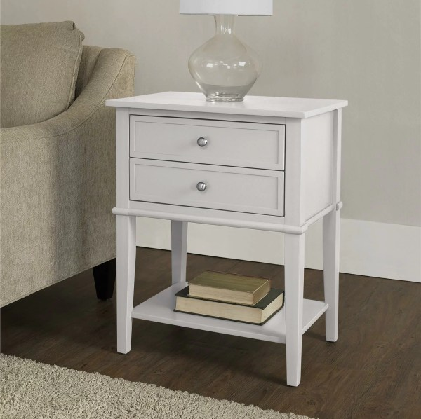 Beachcrest Home Winfield End Table With Storage &