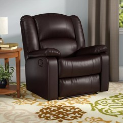 Glider Recliner Chair Ergonomic Seat Cushion Andover Mills Parsonsfield Manual Reviews Wayfair