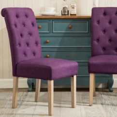 Purple Upholstered Dining Chairs Glider Chair Outdoor Lavender Wayfair Quickview