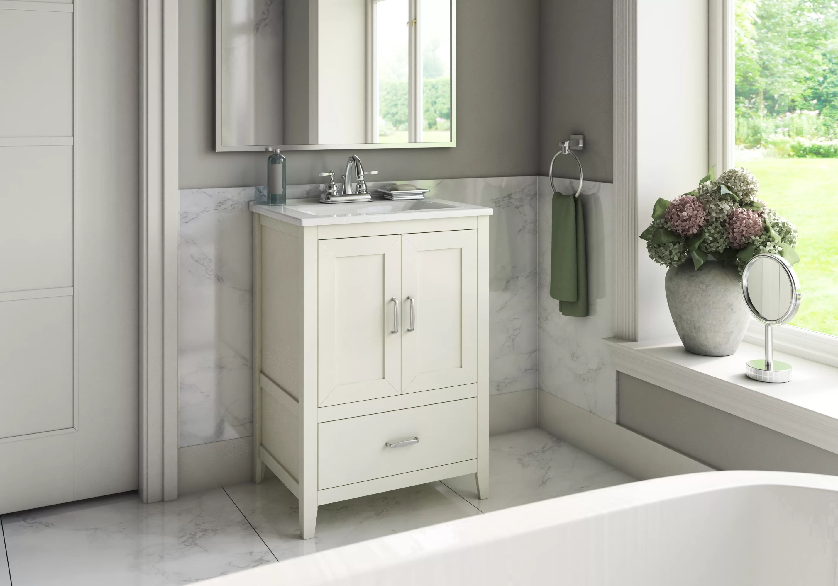 Vanities Bathroom Crist Freestanding Style 24