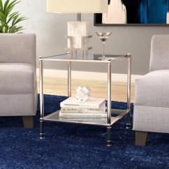 Formal Living Room End Tables Grey And Orange Wallpaper Wade Logan Atticus Table Reviews Wayfair Co Uk