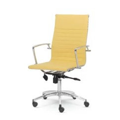 Yellow Office Chair Homemade Covers For Wedding Chairs You Ll Love Wayfair Quickview