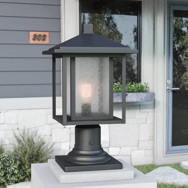 Hungate Outdoor 1 Light Pier Mount Light Amp Reviews Birch
