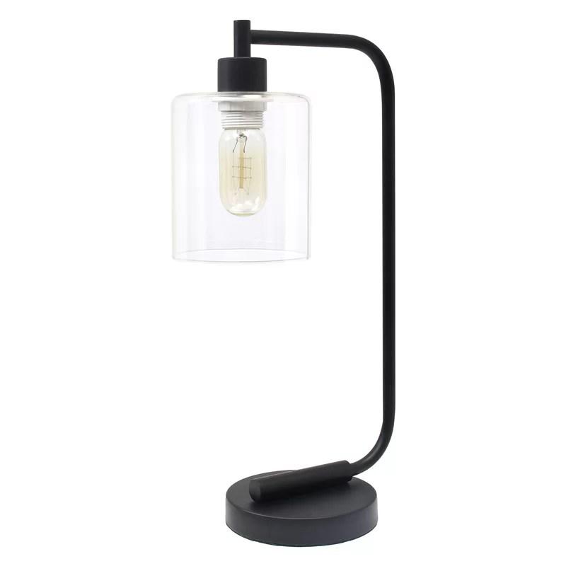 Trent Austin Design Keystone Iron Lantern 1875 Desk Lamp