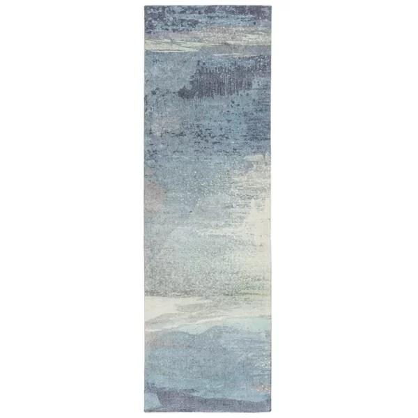 teal kitchen rugs cabinet deals you ll love wayfair ca