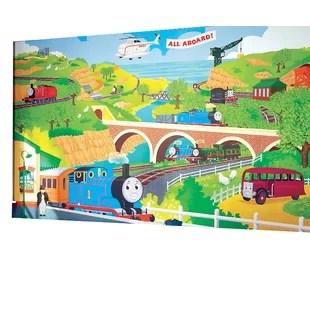 thomas train chair child s plush rocking the furniture wayfair surestrip rail prepasted wall mural