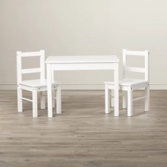 3 Piece Table And Chair Set Second Hand High Seat Chairs For Elderly Viv Rae Suri Kids Reviews Wayfair