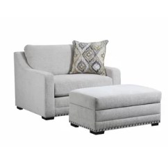 Chair And A Half Sleeper Short Dining Room Covers With Arms Wayfair Swanigan