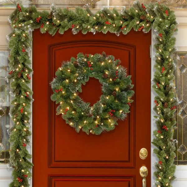 wayfair adirondack chairs replacement canvas chair covers nz christmas wreaths and garlands you'll love |