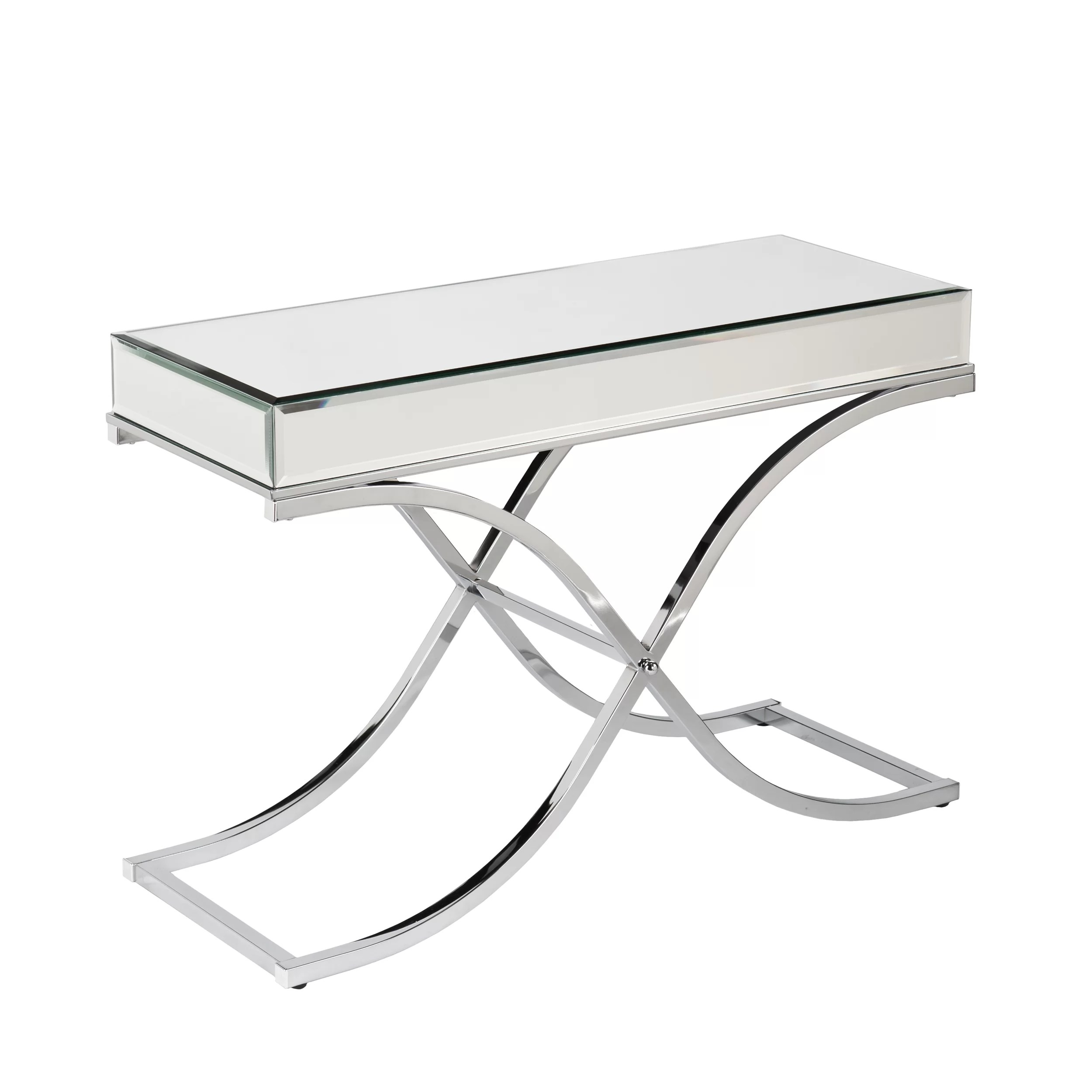 living room console tables mirrored interior design photo gallery 2017 jeannie table reviews joss main
