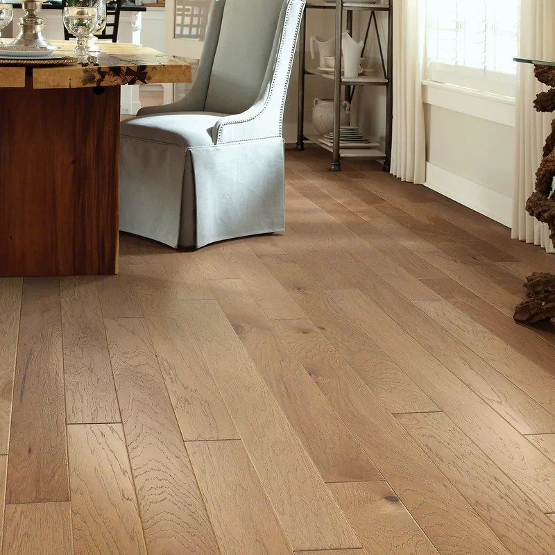Shaw Floors Victorian Hickory 48 Engineered Hickory Hardwood Flooring in Allspice  Reviews