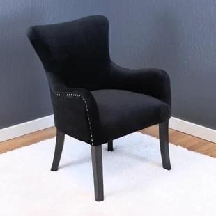 black velvet chair dining foam replacement wayfair quickview