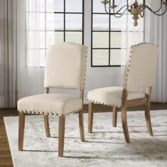 Upholstered Dining Room Chairs With Arms Frog Potty Chair Head Of Table Wayfair Pompon Set 2