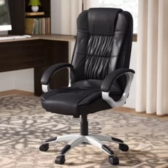 Leather Chair Office Hanging John Lewis Chairs You Ll Love Wayfair Quickview