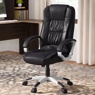 unique leather office chairs step stool chair target you ll love wayfair quickview