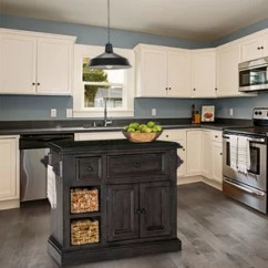 Colored Kitchen Islands Outdoor Plans Diy Grey Carts You Ll Love Wayfair Quickview Country White Weathered Gray
