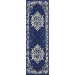 Blue Kitchen Rugs Pantry Storage Units You Ll Love Wayfair Susan Area Rug