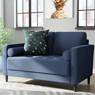 living room loveseats decorating ideas lime green you ll love wayfair quickview