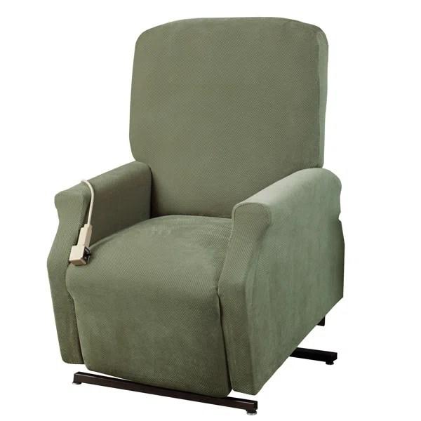 electric recliner chair covers australia big lots bean bag chairs slipcovers you ll love wayfair