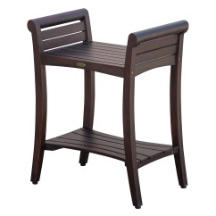 Teak Shower Chairs With Arms Modern Adirondack Chair Decoteak Liftaide Symmetry Seat Reviews Wayfair