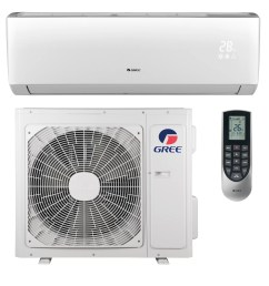 gree livo 22 000 btu ductless mini split air conditioner with heater and remote wayfair ca [ 3300 x 3300 Pixel ]