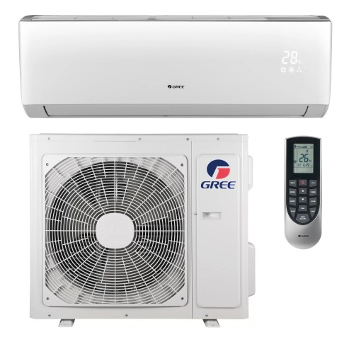 small resolution of gree livo 22 000 btu ductless mini split air conditioner with heater and remote wayfair ca