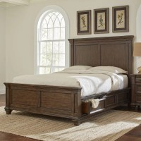 Saunders Storage Platform Bed & Reviews | Birch Lane