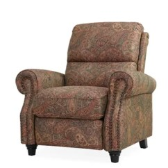 Recliner Chair With Ottoman Manufacturers Wood Side Chairs Lane Wayfair Quickview