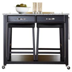 Crosley Kitchen Cart Dinnerware Island With Granite Top Reviews Wayfair Ca
