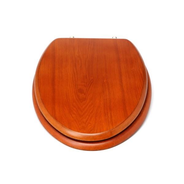 Elongated Wooden Toilet Seats