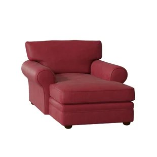 red lounge chair recycled plastic adirondack chaise chairs you ll love wayfair quickview