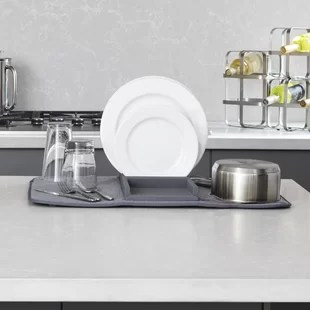kitchen drying rack remodeling manassas va wayfair save