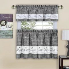 Kitchen Valance White Washed Table Country Valances Wayfair Quickview
